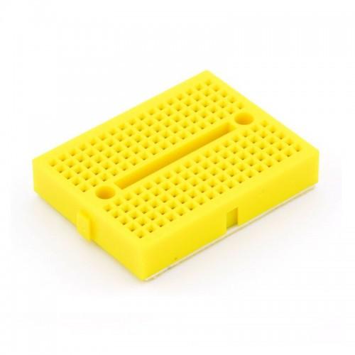 Mini Breadboard (35mmx42mm) - Yellow
